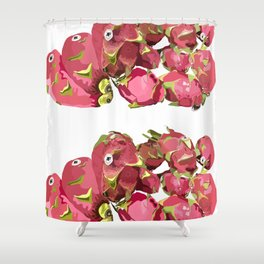dragonfruit Shower Curtain