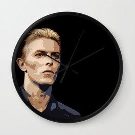 Dark Bowie Wall Clock