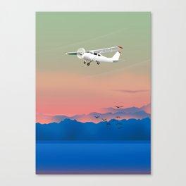 Prop plane Canvas Print
