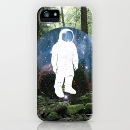 Forest Space iPhone Case