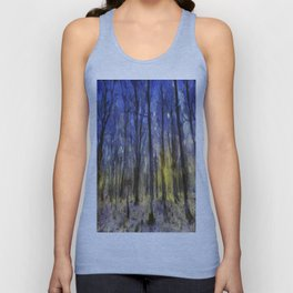The Forest Van Gogh Unisex Tank Top