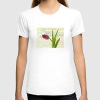 tulip T-shirts featuring Tulip by inkedsandra