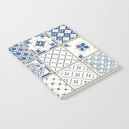 Blue Ceramic Tiles Notebook