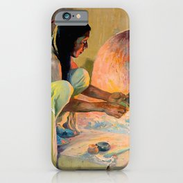 """""""The Kachina Maker"""" by E I Couse iPhone Case"""