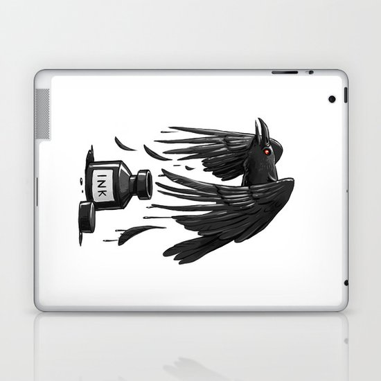 Ink Raven Laptop & iPad Skin