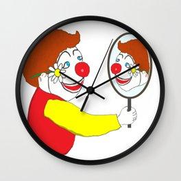 The Happy Clown Wall Clock