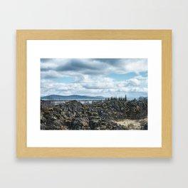 Thingvellir Framed Art Print
