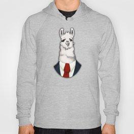 Formal Llama - Red Hoody