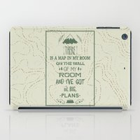 world maps iPad Cases featuring Maps by Posters 4 Progress