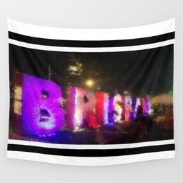 Brisbane City - Beautiful Brisbane Art - Digital Painting Wall Tapestry