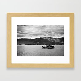 Boat Framed Art Print