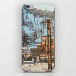 Spring in Park City, Utah iPhone Skin