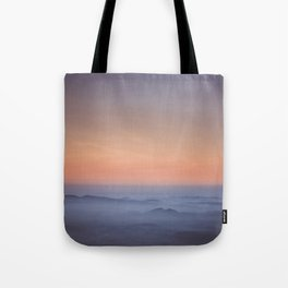 Evening pulse - Landscape and Nature Photography Tote Bag