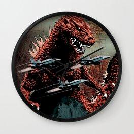 Godzilla Cover Art G-Fan Magazine Wall Clock
