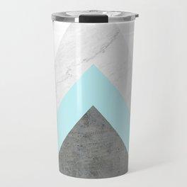 Arrows Collage Travel Mug