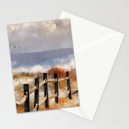Morning Mists In The Mountain Stationery Cards