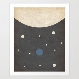 Dwarf- Space is Hot Art Print