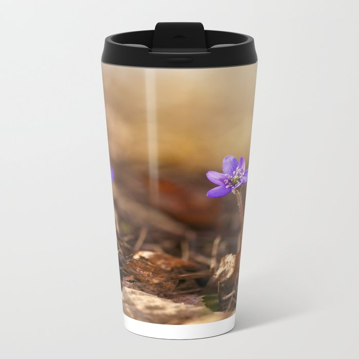 Come with me  Hepatica Forest #decor #society6 Metal Travel Mug