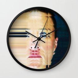 Pixel Push Series: Bridget 1 Wall Clock