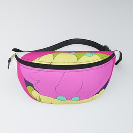 piercing tongue girl lips face Fanny Pack