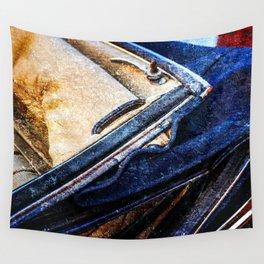 Vintage Car - Velvet Luxury Wall Tapestry