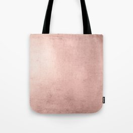 Blush Rose Gold Ombre Tote Bag