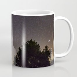 Milkyway at the mountains. Saggitarius Antares and Rho Ophiuchus Coffee Mug
