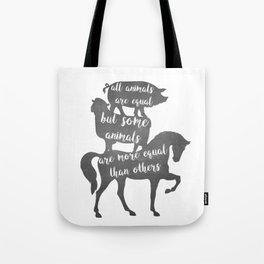 Animal Farm - George Orwell Tote Bag
