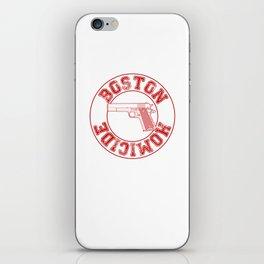 Jane Rizzoli's BPD Baseball Tee iPhone Skin