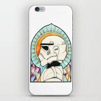 trooper iPhone & iPod Skins featuring TROOPER by KMLS