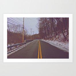 Blackburn Road Art Print