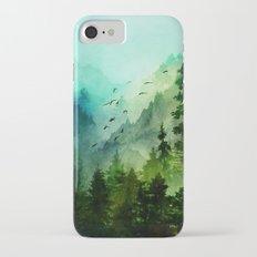 Mountain Morning iPhone 7 Slim Case