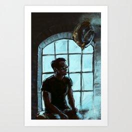 Sad Matt Art Print