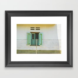 window and me Framed Art Print