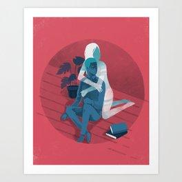 Ghost series 02 Art Print