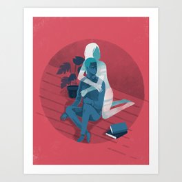 Ghost series 02 Art Print
