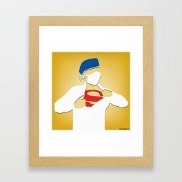 Surgery (Yellow) Framed Art Print