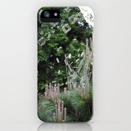 accepting life as it is: the forest iPhone Case