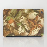 tree iPad Cases featuring Red-Throated, Black-capped, Spotted, Barred by Teagan White