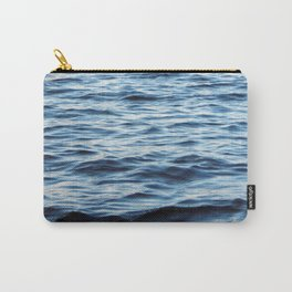 Panorama and landscape of the river on a boat Carry-All Pouch