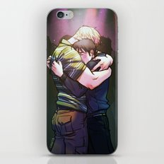 William and Theodore 18 iPhone & iPod Skin