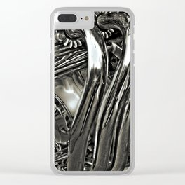Shiny Pipes! Clear iPhone Case