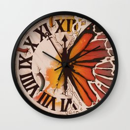 A Ruptured Time Wall Clock