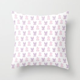 Sphynx cas Throw Pillow