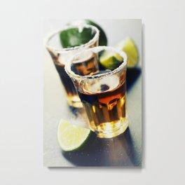 Tequila shots Metal Print