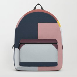 Abstract Geometric 05 Backpack