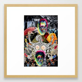 Long-term Effects of Satanic Psychic Shrapnel  Framed Art Print