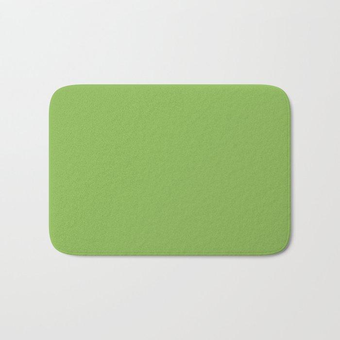 GREENERY PANTONE 15-0343 Green Bath Mat