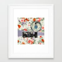 the flash Framed Art Prints featuring Flash by Oleg Borodin