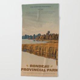 Rondeau Provincial Park Beach Towel
